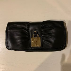 Michael Kors leather clutch